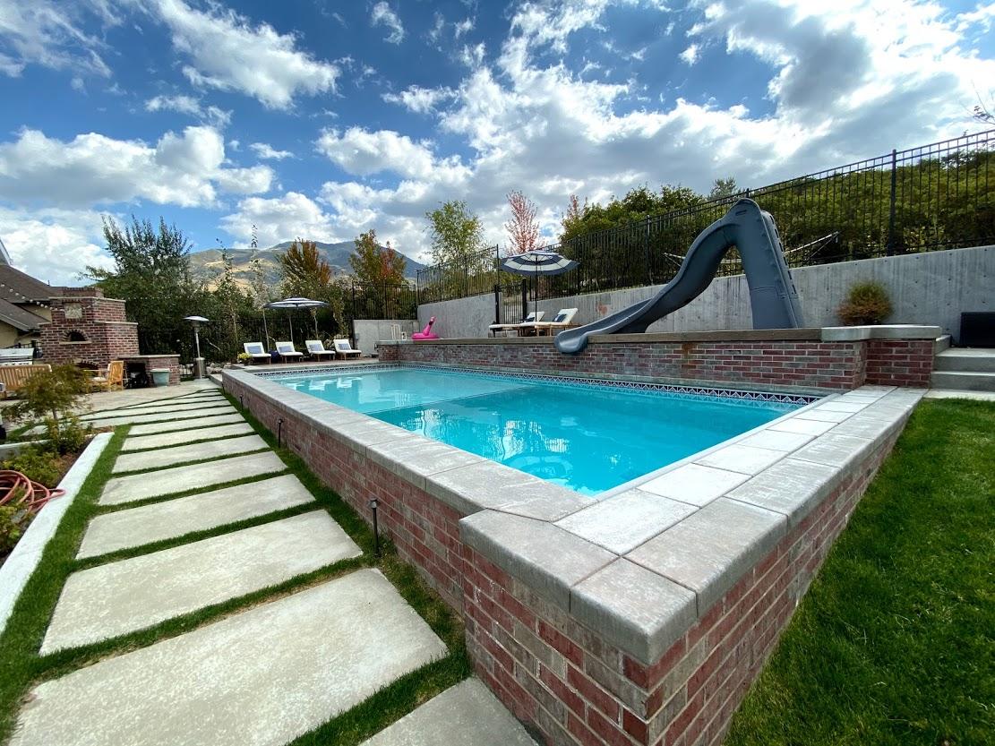 Brick Pool Builder Utah