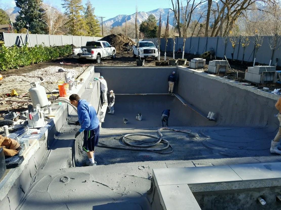 Utah Pool Construction Team