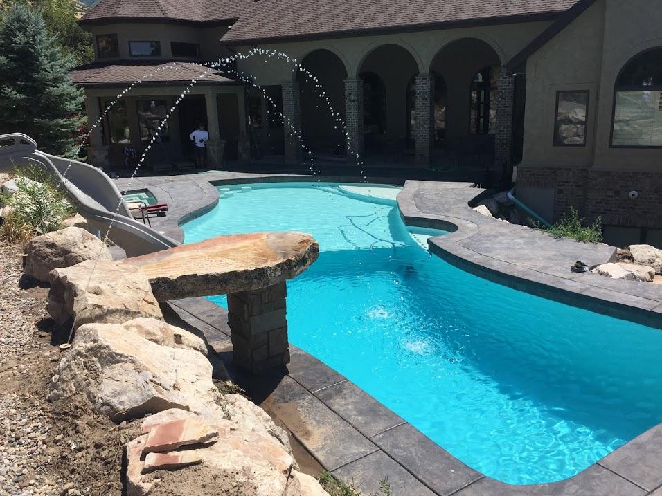 freeform pool builder Utah