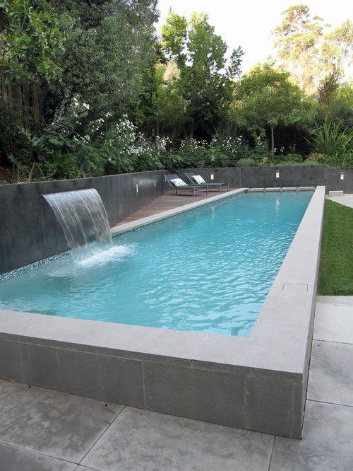 skinny swimming pool