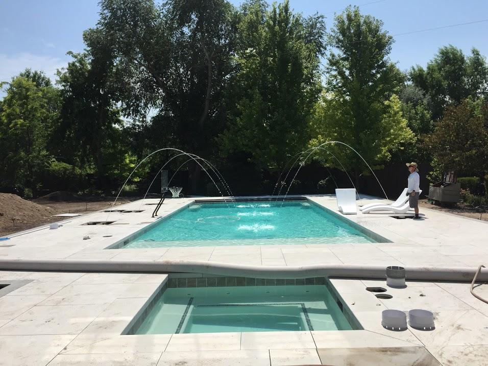 water feature utah pool